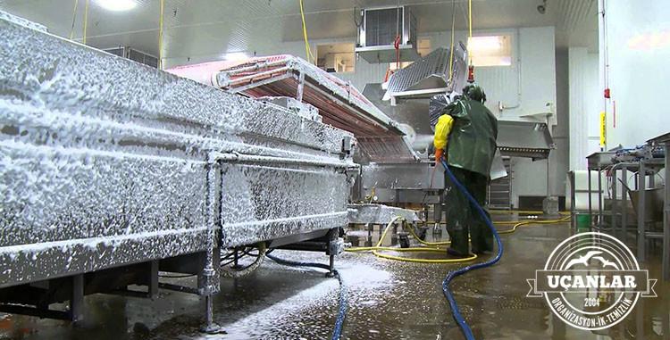 endüstriyel fabrika temizliği izmir