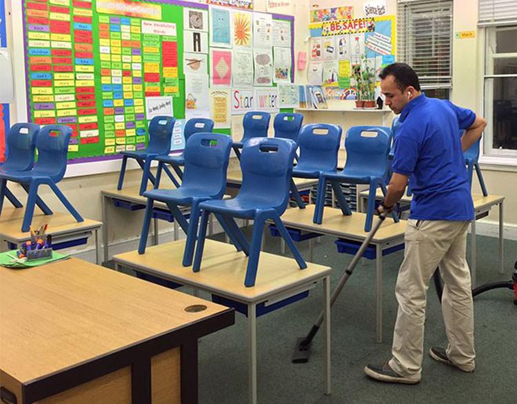 izmir okul temizliği
