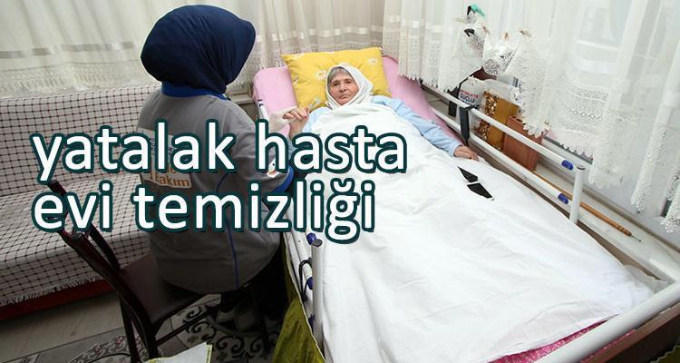 Yatalak Hasta Evi Temizliği İzmir