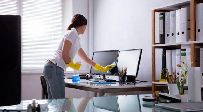 izmir karşıyaka ofis temizlik şirketi